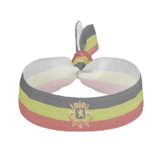 Belgian stripes flag hair tie