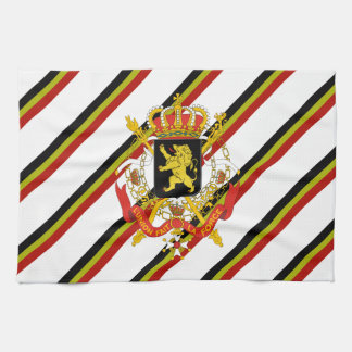 Belgian stripes flag kitchen towel