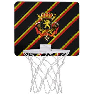 Belgian stripes flag mini basketball hoop
