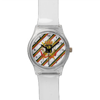 Belgian stripes flag watch