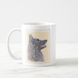 Belgian Tervuren 2 Painting - Original Dog Art Coffee Mug