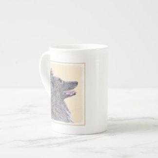 Belgian Tervuren 2 Painting - Original Dog Art Tea Cup