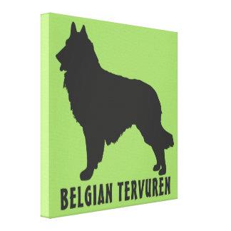 Belgian Tervuren Canvas Print