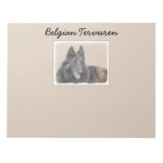 Belgian Tervuren Notepad