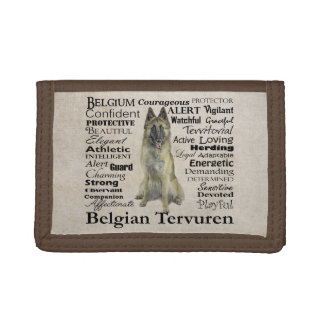 Belgian Tervuren Traits Wallet
