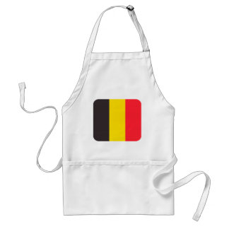Belgian three colour of Belgium kitchen apron