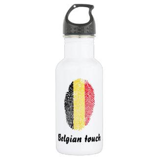 Belgian touch fingerprint flag 532 ml water bottle