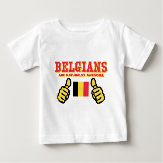 Belgians are naturally awesome baby T-Shirt