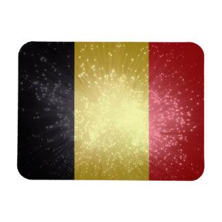 België; Belgium Flag Magnet