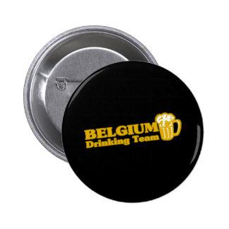 BELGIUM 2 INCH ROUND BUTTON