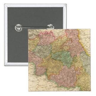 Belgium 2 Inch Square Button