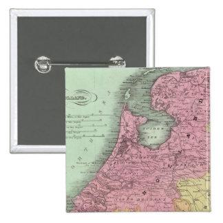 Belgium And Holland Pin