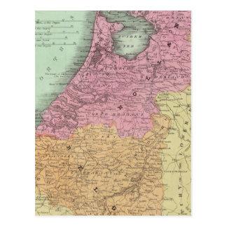 Belgium And Holland Postcard