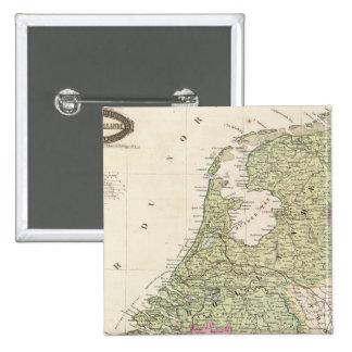 Belgium and Netherlands 2 Pinback Button