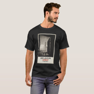 BELGIUM ANTWERP CATHEDRAL vintage picture T-Shirt