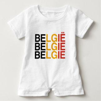 BELGIUM BABY ROMPER