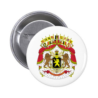 Belgium BE Pinback Button