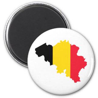Belgium BE Magnet