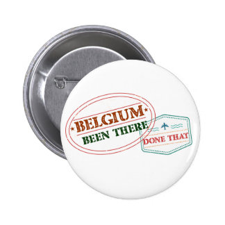 Belgium Been There Done That 2 Inch Round Button