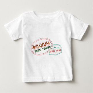 Belgium Been There Done That Baby T-Shirt