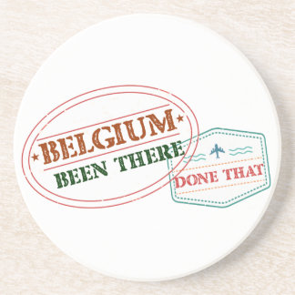 Belgium Been There Done That Coaster