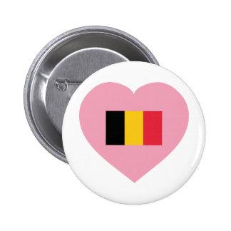 Belgium / Belgique 2 Inch Round Button