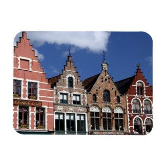 Belgium, Brugge (aka Brug or Bruge). UNESCO 2 Rectangular Photo Magnet