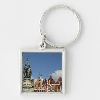 Belgium, Brugge (aka Brug or Bruge). UNESCO Keychain