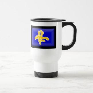 Belgium-Brussels Flag Travel Mug