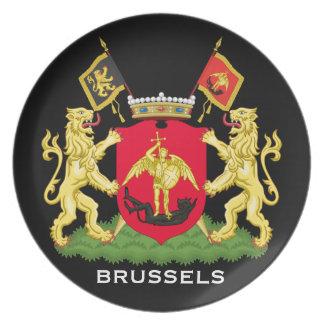 Belgium*- Brussels Plate
