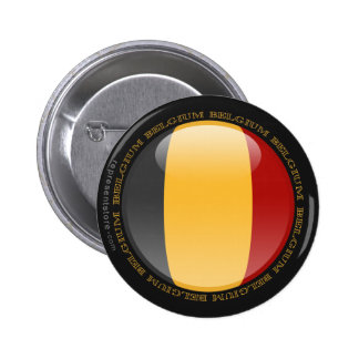 Belgium Bubble Flag Button