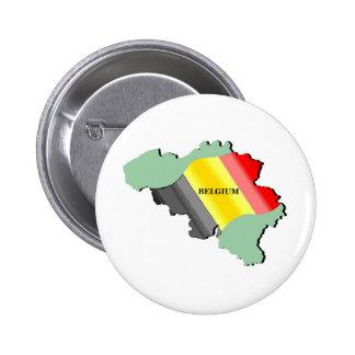 Belgium Pinback Button
