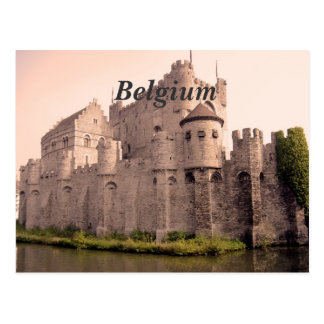 Belgium Castle Postcard