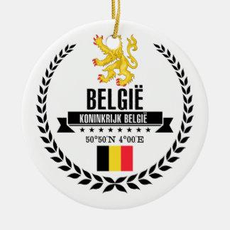 Belgium Ceramic Ornament