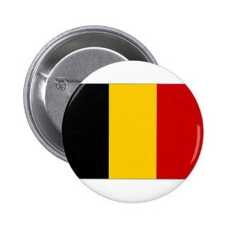 Belgium Civil Ensign Pinback Buttons