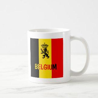 Belgium Classic White Coffee Mug