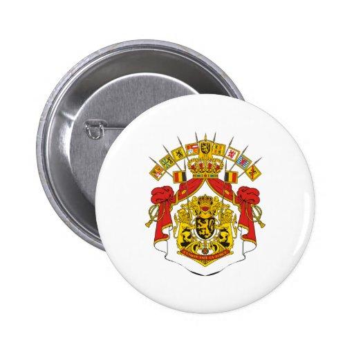 Belgium Coat Of Arms Pins