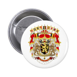 Belgium Coat of Arms Button
