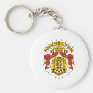 Belgium Coat Of Arms Keychain