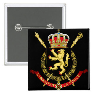 belgium emblem pinback buttons
