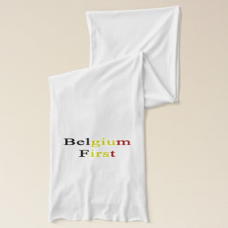 Belgium First Scarf Wraps