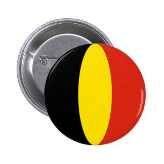 Belgium Fisheye Flag Button