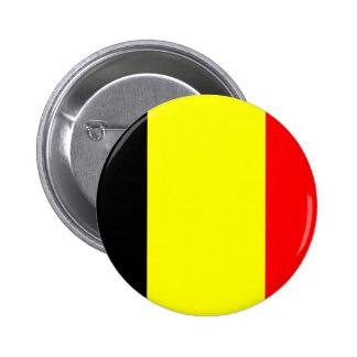 Belgium Flag 2 Inch Round Button