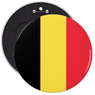 Belgium Flag 6 Inch Round Button