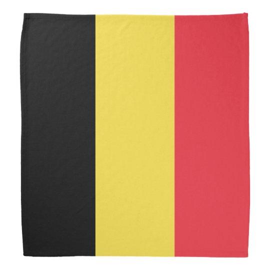 Belgium Flag Bandana