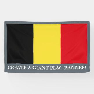 Belgium Flag Banner