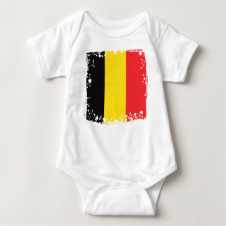Belgium Flag, Belgian Colors Baby Clothing Baby Bodysuit
