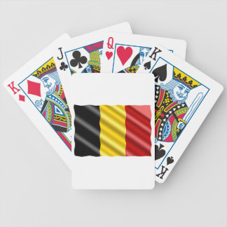 Belgium Flag Bicycle Playing Cards