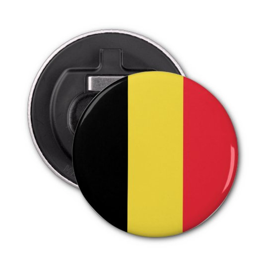 Belgium Flag Bottle Opener