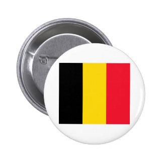 Belgium Flag Pinback Buttons